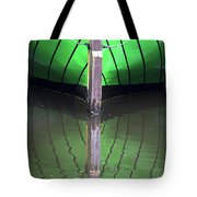 Green Reflection Tote Bag