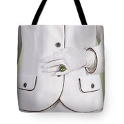 Green Ring Tote Bag