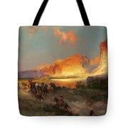 Green River Cliffs Wyoming Tote Bag