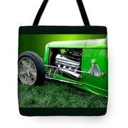 Green Rod Tote Bag