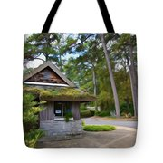 Green Roof 2 Tote Bag