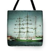 Green Sail Tote Bag