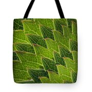 Green Scales Of A Dragon Tote Bag