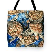 Green Sea Turtles Tote Bag