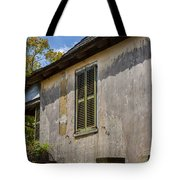 Green Shutters Stucco Walls St Augustine Tote Bag
