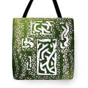 Green Simplicity Tote Bag