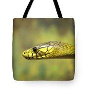 Green Snake. Tote Bag