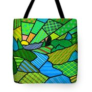 Green Spring Morning Tote Bag