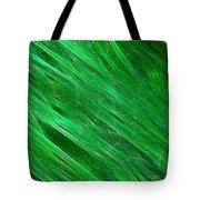 Green Streaming Tote Bag