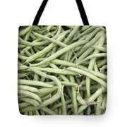 Green String Beans Display Tote Bag