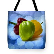 Green Sweet Pepper - Square - Textured Tote Bag