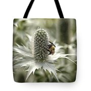 Green Thistle Tote Bag