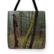 Green Timber Tote Bag