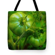 Green Tomatos Tote Bag
