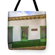 Green Trim Tote Bag