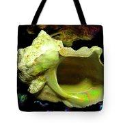 Green Turban Seashell Tote Bag