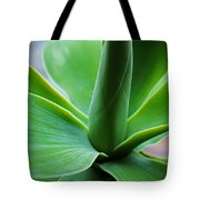 Green Twist Tote Bag