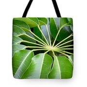 Green Umbrella Tote Bag