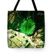 Green Urchin Tote Bag