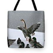 Green Valley Ducks Tote Bag