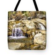 Green Valley Falls Winter Tote Bag