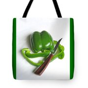 Green Veggie Munchie Tote Bag