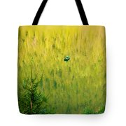 Green Vertigo Tote Bag