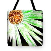 Green Vexel Flower Tote Bag