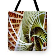 Green Weave Tote Bag