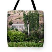 Green Wine Yard Tote Bag