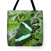 Green Wings 2 Tote Bag