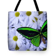 Green Wings In The Mums Tote Bag