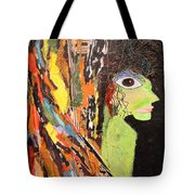 Green Wickedness Tote Bag