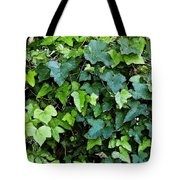 Green With Ivy Tote Bag