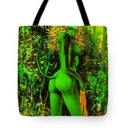 Green Wood Nymph Tote Bag