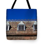 Green-wood Roof Tote Bag