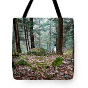 Green Woodland Beauty Tote Bag