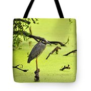 Green Yellow And Red Tote Bag