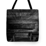 Greenbrier School Circa 1882 Tote Bag by David Lee Thompson