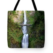 Greenery Of Multnomah Falls Tote Bag