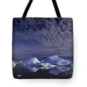 Greenland Midnight Sun Tote Bag