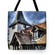 Greensted Church Ongar Tote Bag