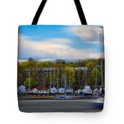 Greenwich Marina Tote Bag