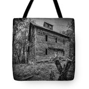 Greer Mill Black And White Tote Bag
