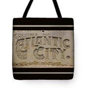 Greetings From Atlantic City Tote Bag
