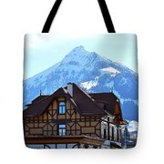 Greetings From Frutigen Tote Bag