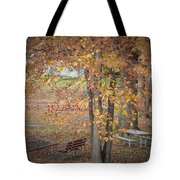 Greetings Of Nature Tote Bag