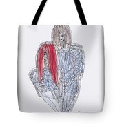 Greg Kristi Unfinished Tote Bag