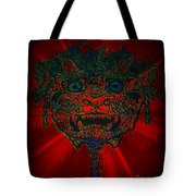 Gremlin In Dynamic Color Tote Bag