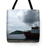 Grenadines Wharf Tote Bag